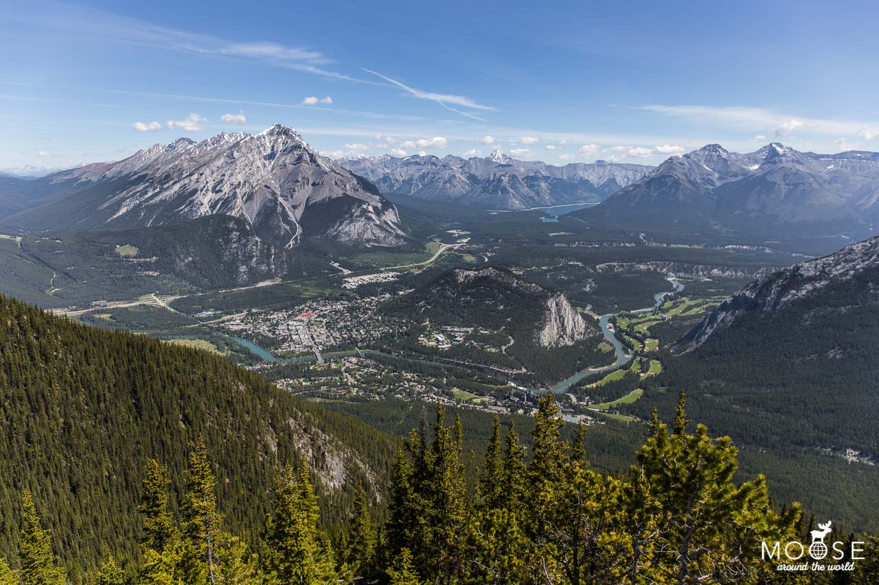 Banff Gondola Sulphur Mountain