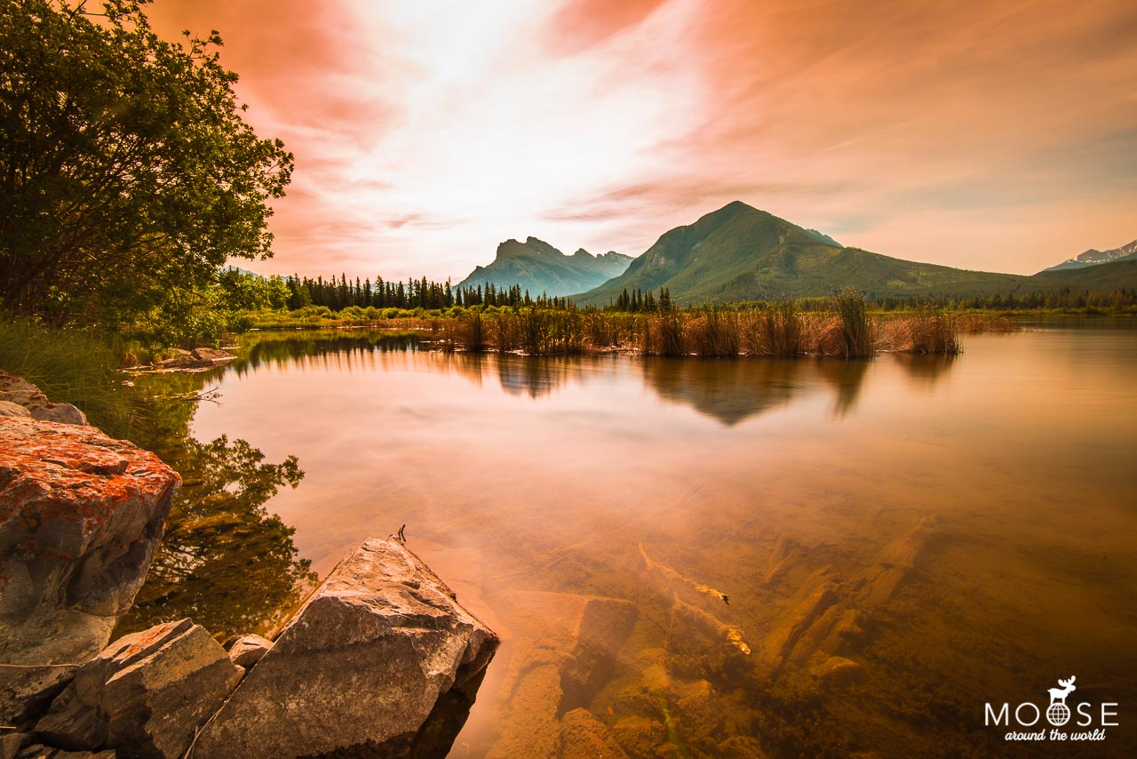 Vermillion Lakes Banff Nationalpark