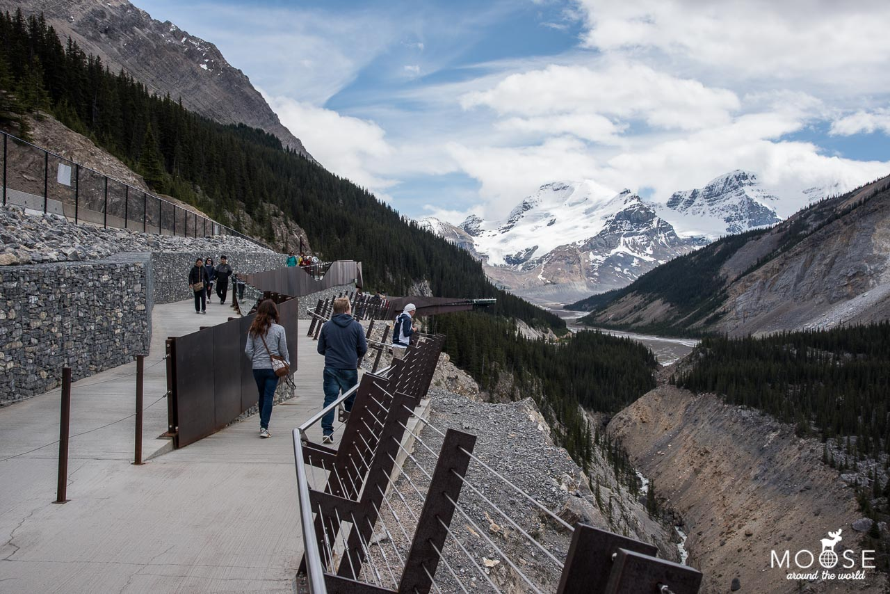 Glacier Skywalk Jasper Nationalpark