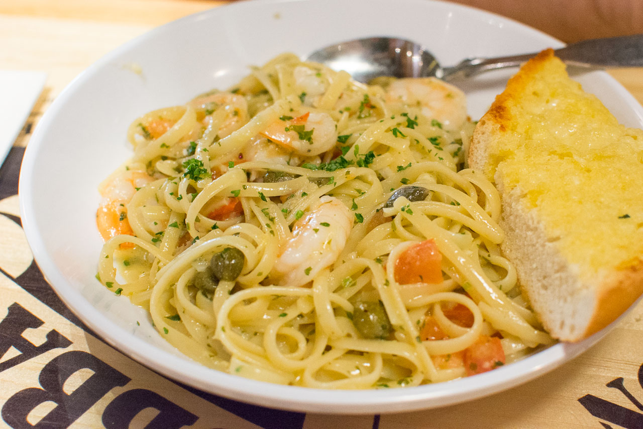 Of course we've got scampi