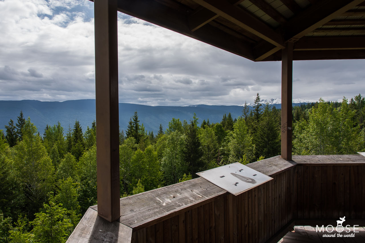 Green Mountain Viewtower Wells Gray