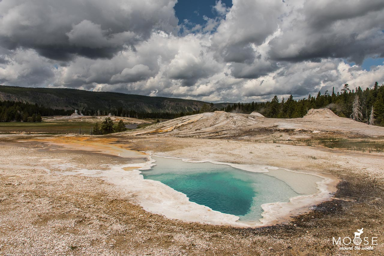 Upper Geyser Basin Yellowstone Nationalpark