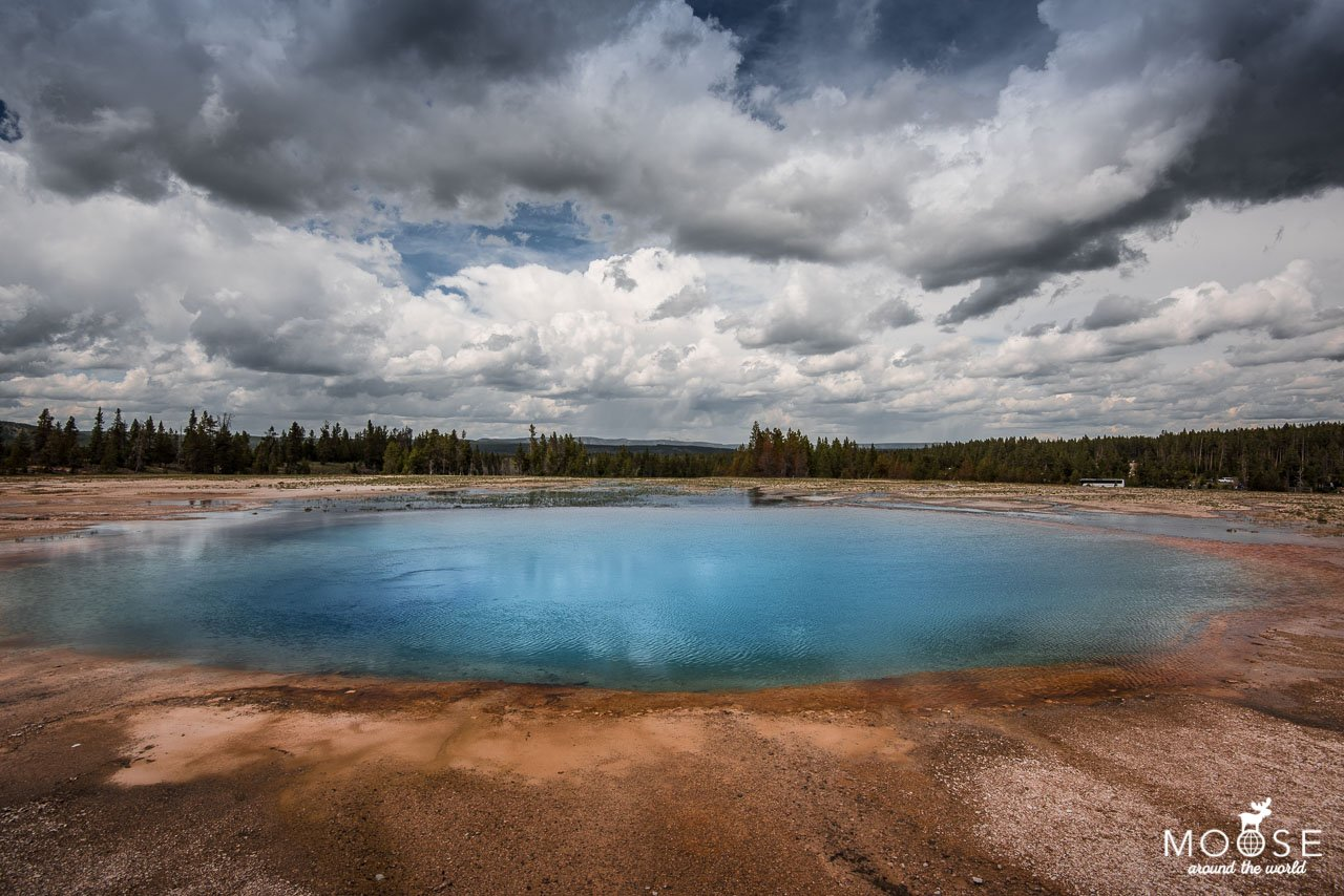 Grand Prismatic Spring Yellowstone Nationalpark