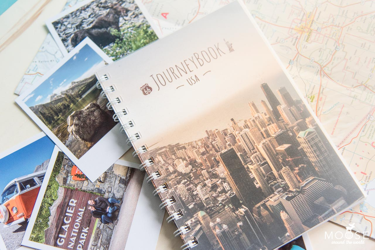 JourneyBook Traveljournal Reisetagebuch
