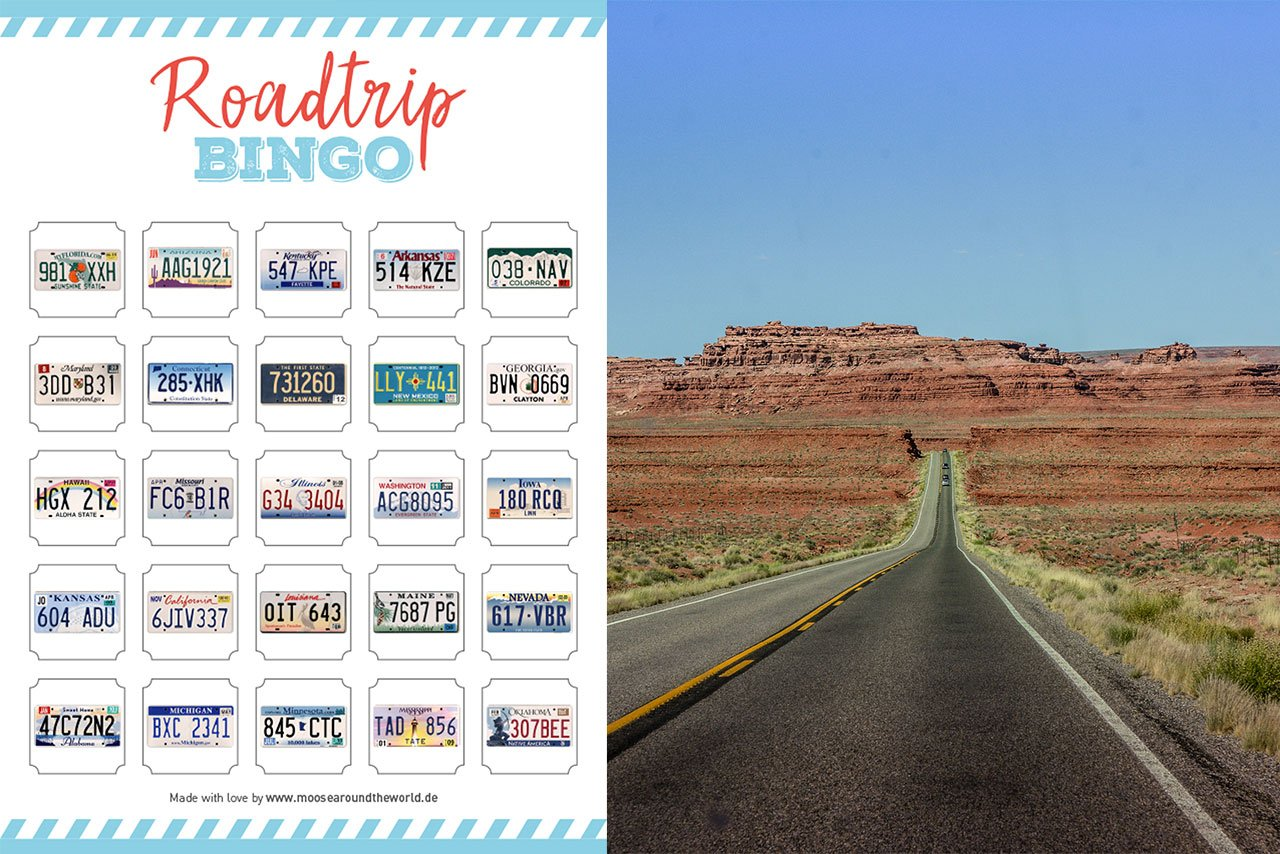 Roadtrip Bingo USA