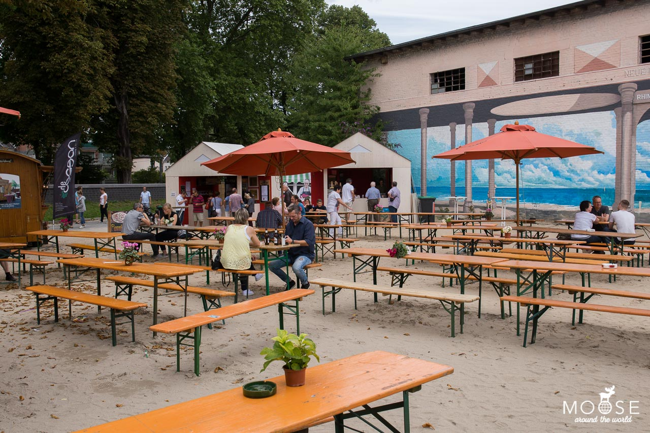 Rhine Side Gallery Biergarten