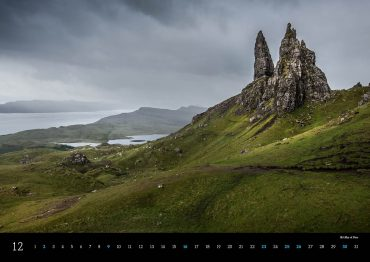 Kalender Schottland 2018 Isle of Skye Old Man of Storr