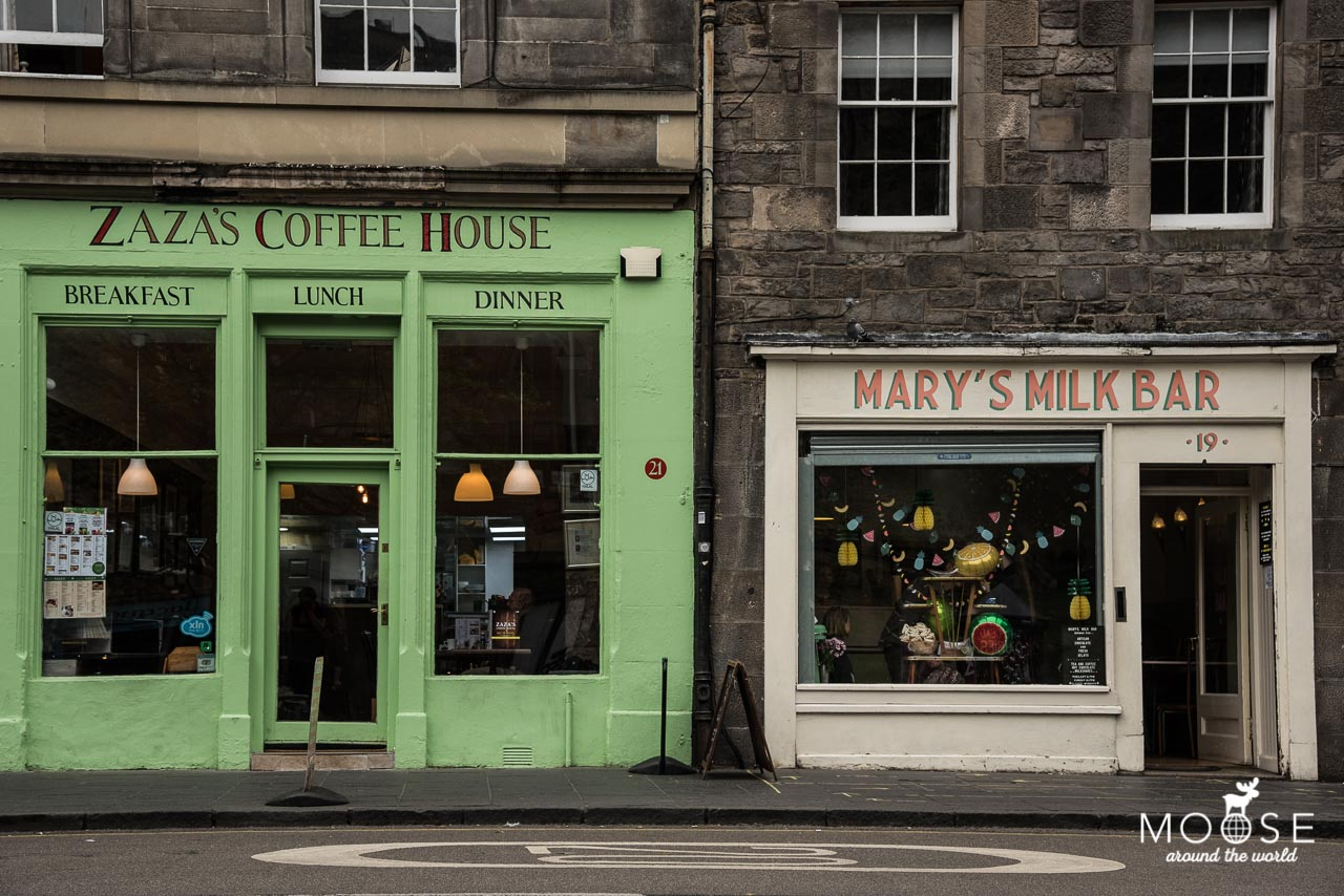 Mary's Milkbar Edinburgh