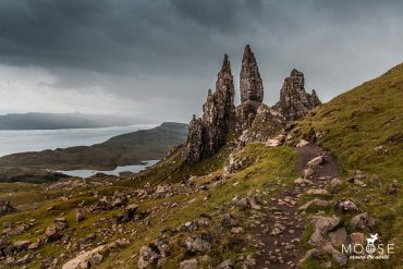 Old Man of Storr Wanderung Isle of Skye