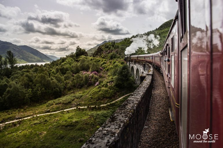 Glenfinnan Viaduct The Jacobite Fort William Mallaig