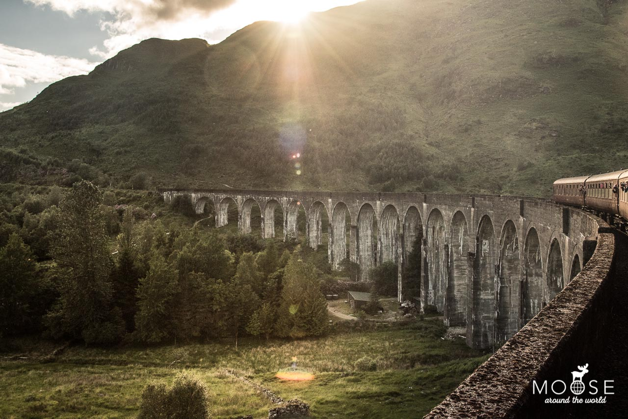 Glenfinnan Viaduct The Jacobite Fort William Mallaig Schottland