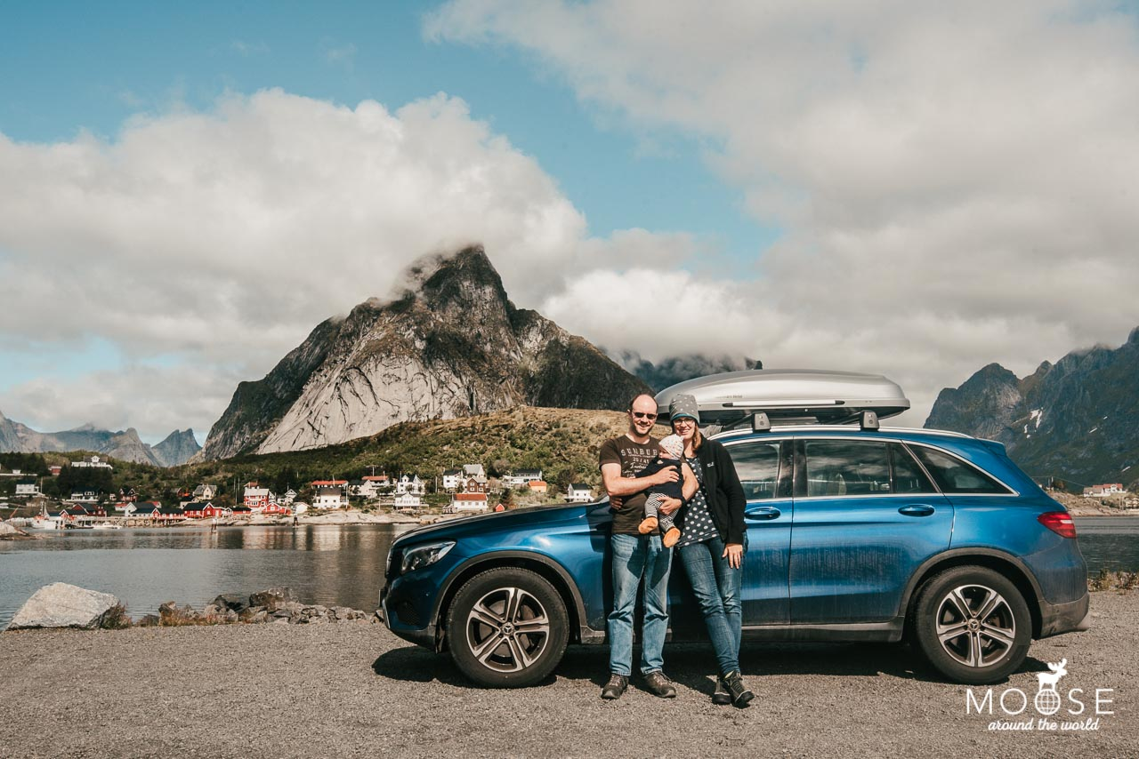 Norwegen Lofoten Mercedes GLC