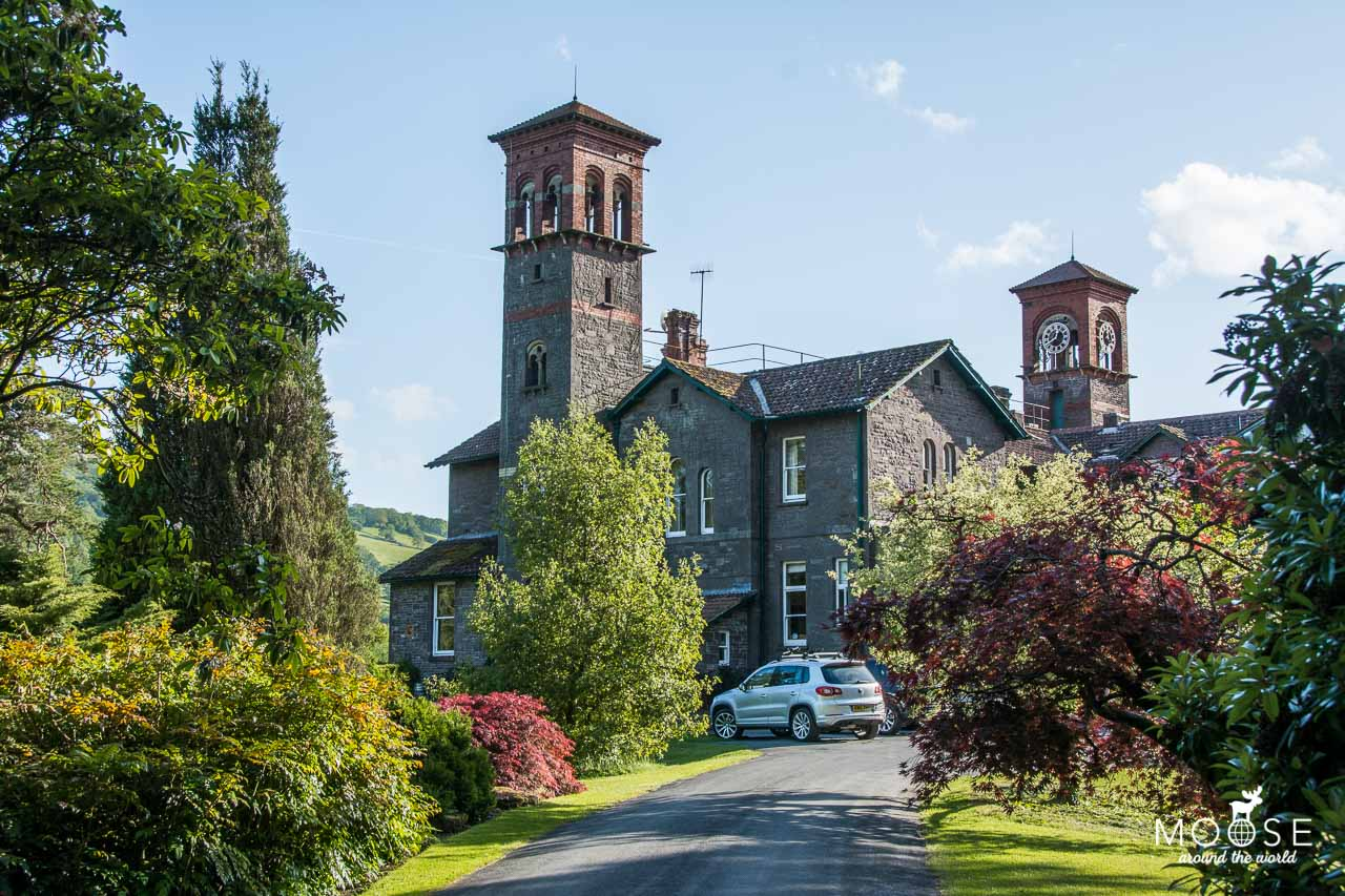 gliffaes country house hotel brecon beacons wales