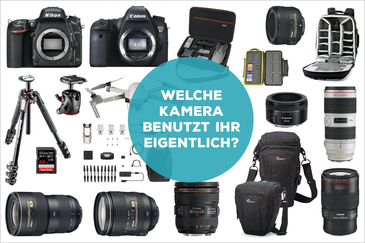 Kamera Equipment Fotoausrüstung
